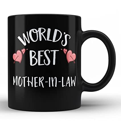 Worlds Best Mother In Law Mug