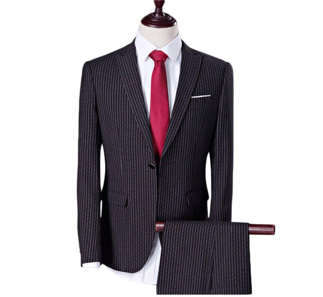 Love Dress Men's Suit Jacket and Pant Men Bestmen Wedding Party Gown 5XL