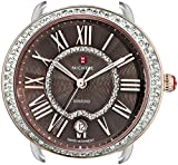 MICHELE Women's MW21B01D2070 Serein 16 Analog Display Swiss Quartz Two Tone Watch Head