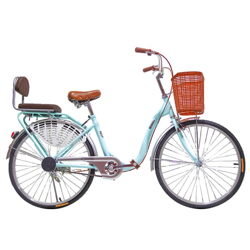 S.N S Bicycle Women's Lightweight Adult City Student Commuter Car 26 Inch Single Speed
