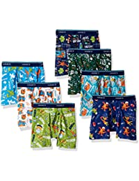 Boys' 7-Pack Days Of The Week Boxer Brief