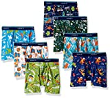 Hanes Toddler Boys 7-Pack Days of The Week Boxer Brief, Assorted, 2/3