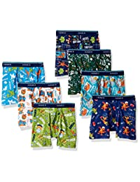 Hanes Toddler Boys 7-Pack Days of The Week Boxer Brief, Assorted