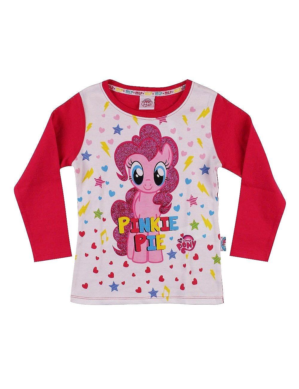 Hasbro T-Shirt Manica Lunga My Little Pony Pinkie Pie Bambina