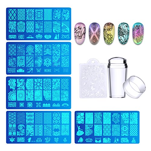 The 8 best nail stamping kits with scraper stamp and plates