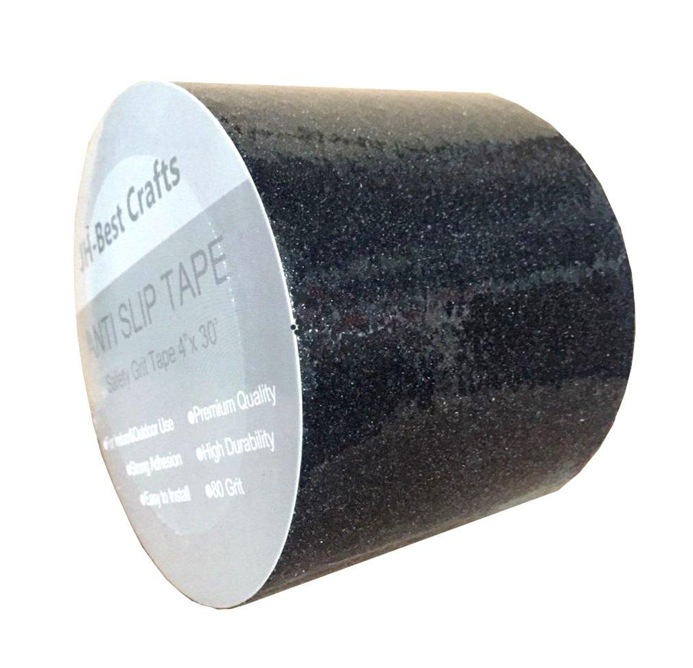 Anti-Slip Grip Tape - Non-Slip Weatherproof Indoor or Outdoor, Highest Traction 4-Inch x 30 Feet