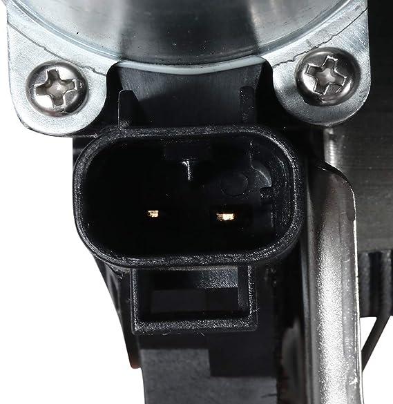 OCPTY Power Window Regulator with Motor Replacement Rear Left Driver Side Window Regulator fit for 2007-2014 Cadillac Escalade 2007-2014 Chevrolet Tahoe 2007-2014 GMC Yukon 15841699 741-390