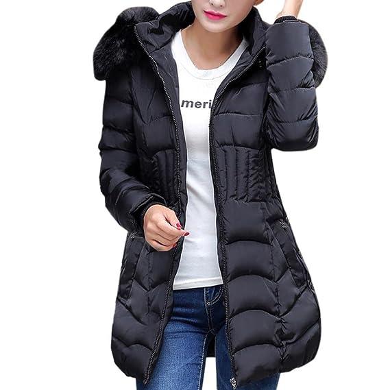 zycShang Manteau Hiver Femme Jacket, La Mode Hiver Womens Longue Veste  Chaude Parka ExtéRieur De 7ac07ccaec9