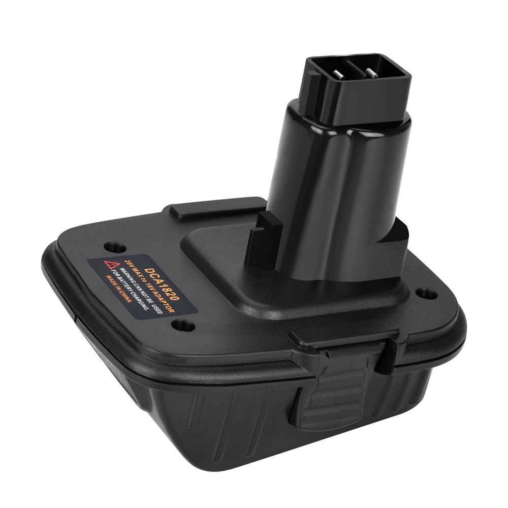 Weistar DCA1820 for Dewalt Battery Adapter for 18V Tools Work With 20V MAX XR Lithium Battery