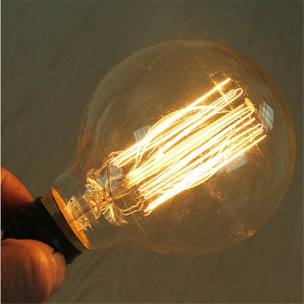 Old Fashioned Filament Bulbs Make Beautiful Design,Giant Squirrel Cage Globe 95mm E27 UK Lighting Vintage Edison Light Bulb 60w