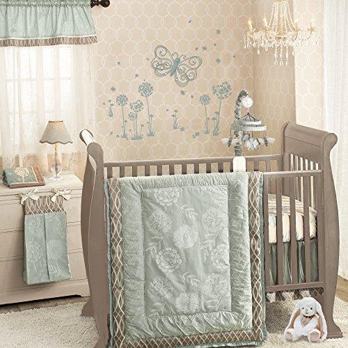 Tiffany 6-Piece Crib Bedding Set by Lambs & Ivy