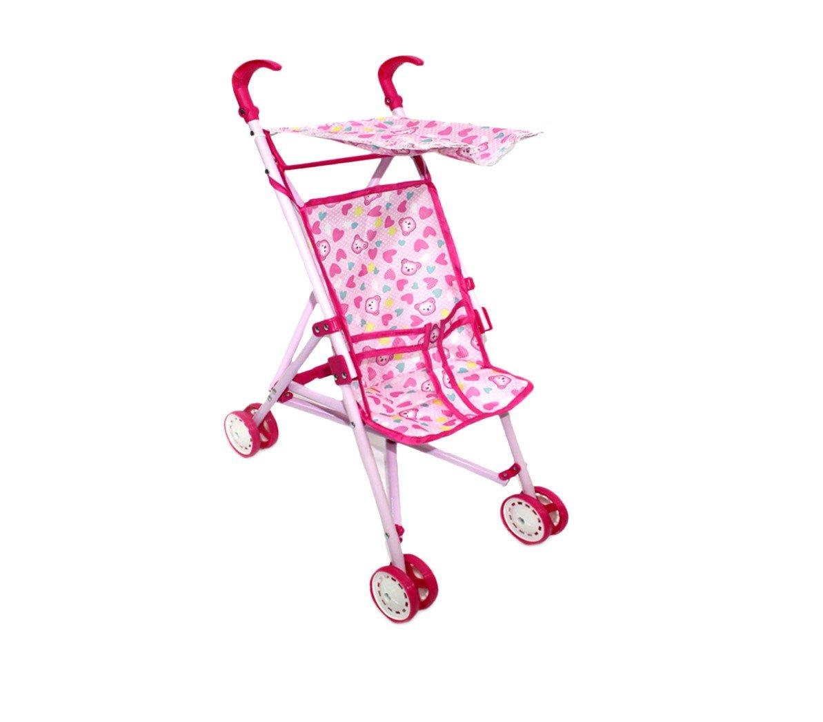 Amazon.es: 981012 Carrito de paseo para muñecas CIGIOKI con capota para el sol - Ositos: Juguetes y juegos