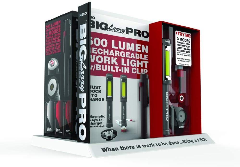Nebo Big Larry Pro 500 Lumen Flashlight 6640
