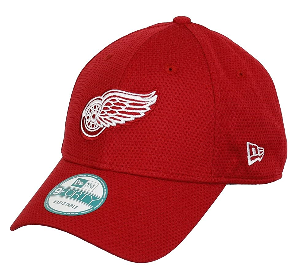 DETROIT RED WINGS - NEW ERA 9 FORTY ADJUSTABLE - TEAM TRAIN DIAMOND - SCARLET