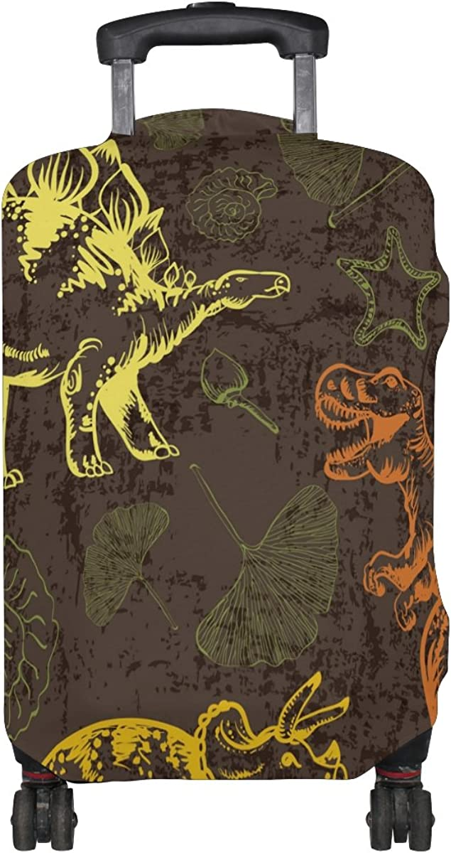 LAVOVO Jurassic Dinosaur Luggage Cover Suitcase Protector Carry On Covers
