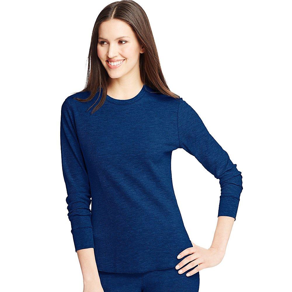 Hanes Womens X-Temp Thermal Crew Shirt 24500/24700