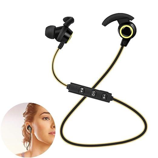 PSATO Auriculares Bluetooth Deportivos, Auriculares Inalámbricos ...