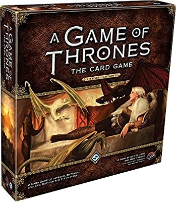 A Game of Thrones The Card Game Second Edition from Fantasy Flight Games
