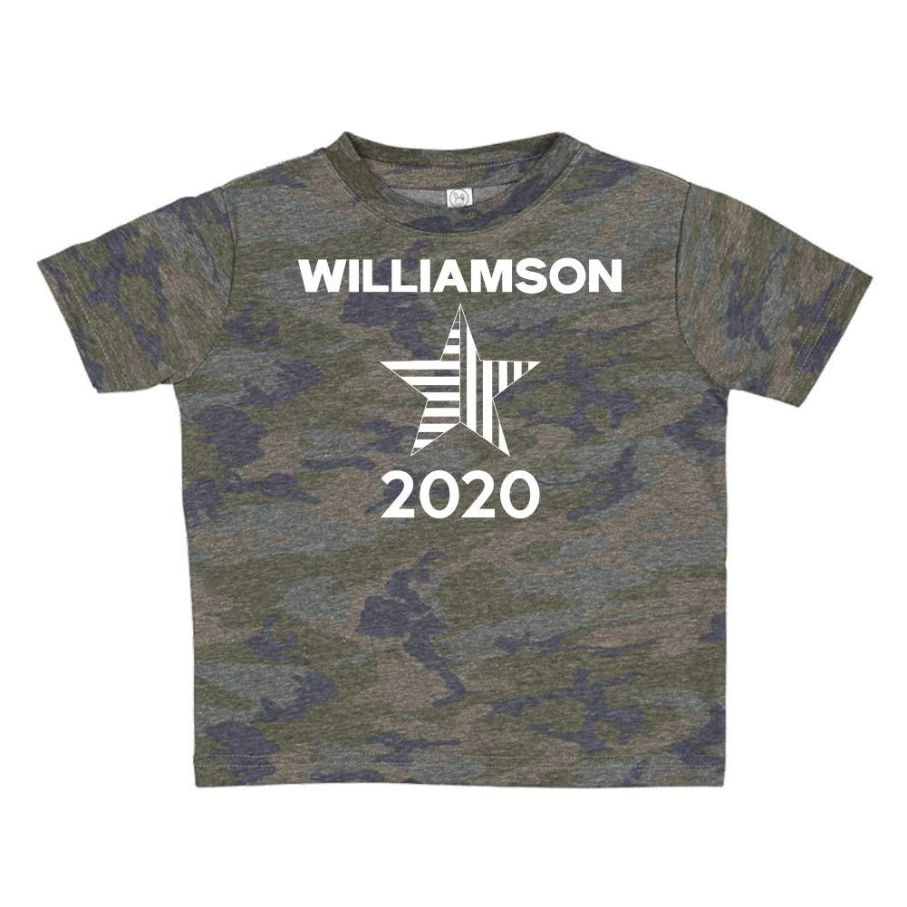 Presidential Election 2020 Toddler//Kids Short Sleeve T-Shirt Mashed Clothing Williamson 2020 Star