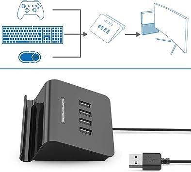 IFYOO KMAX1 - Adaptador de teclado y ratón para PS4 / Switch / PS3: Amazon.es: Electrónica
