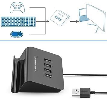 ifyoo kmax1 clavier et souris adaptateur convertisseur pour ps4 xbox one switch ps3 - comment mettre fortnite sur switch