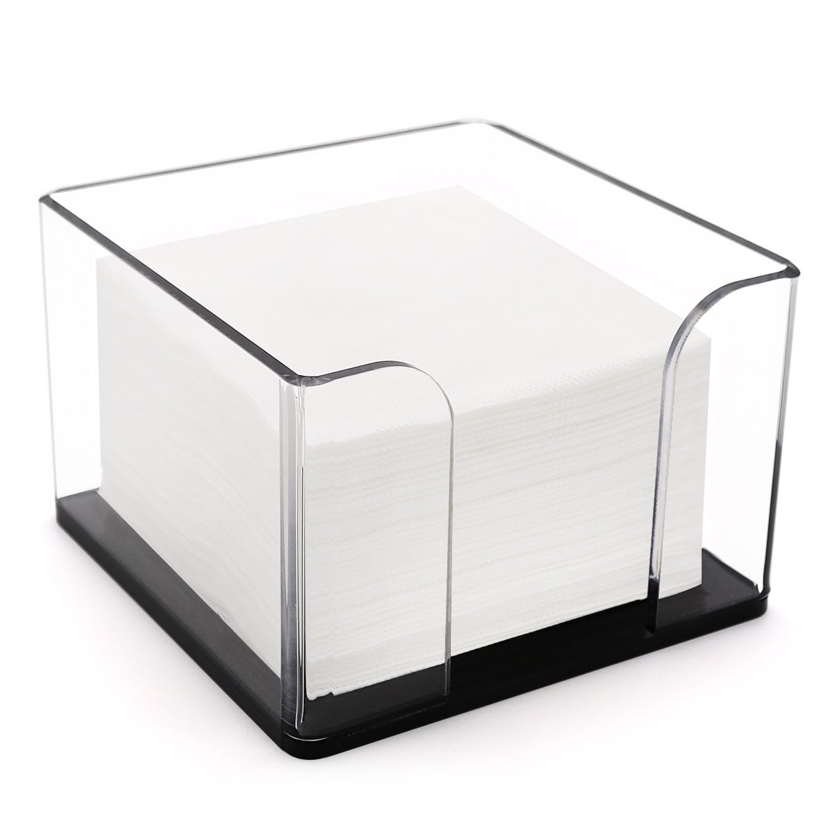 Napkin Holder, Clear Acrylic Cocktail Napkin Holder Stand for Restaurant Kitchen,Bar,Party,Home,Office Tables DYCacrlic