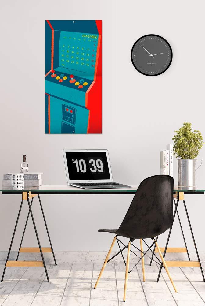 Calendario de pared 2020 Gameration 30 x 30 cm ERIK incluye p/óster de regalo