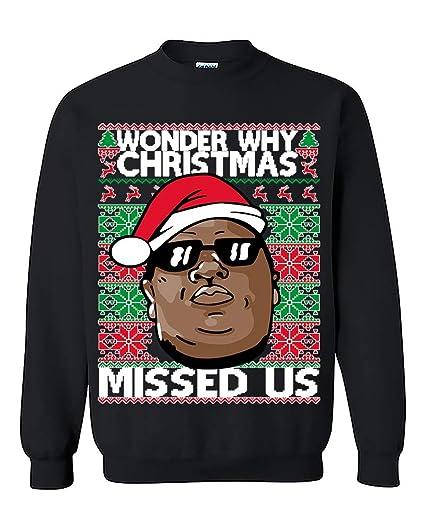Amazon Com Ysm Biggie Hip Hop Legend Wonder Why Christmas Missed