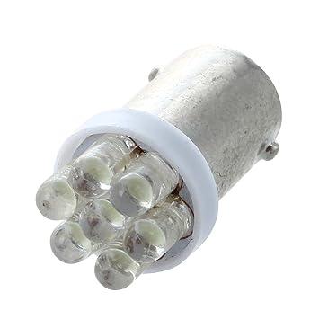 Sodial T4w Ampoule 1895 Blanc X 7 Leds 12v Lampe Pour Voiture r10 Ba9s PuTOkXZi
