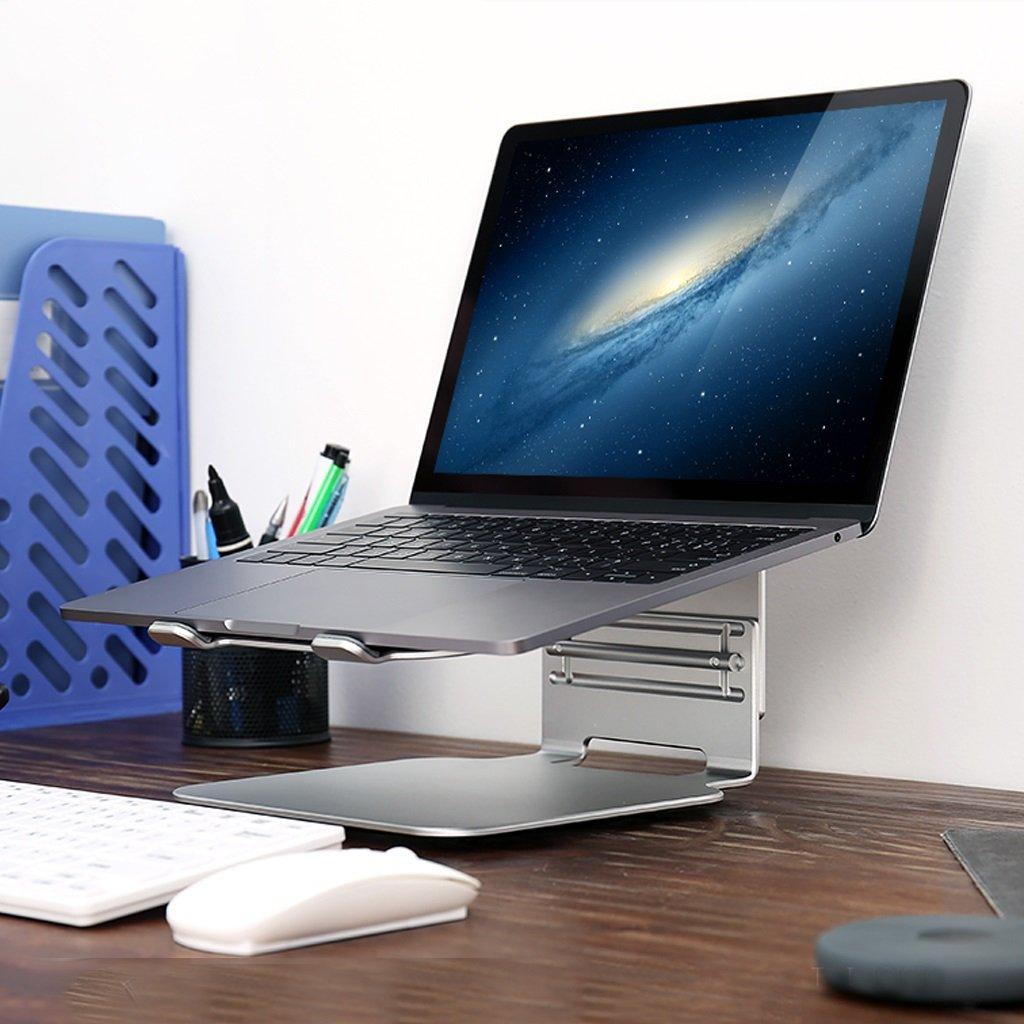 XY Soap dish Desktop Rotary Radiator Computer Base, Aluminum Notebook Desk, Three-Speed Adjustable Rotating Chassis Notebook Desk, 245mm230mm135mm—120mm—105mm by XY Soap dish (Image #5)