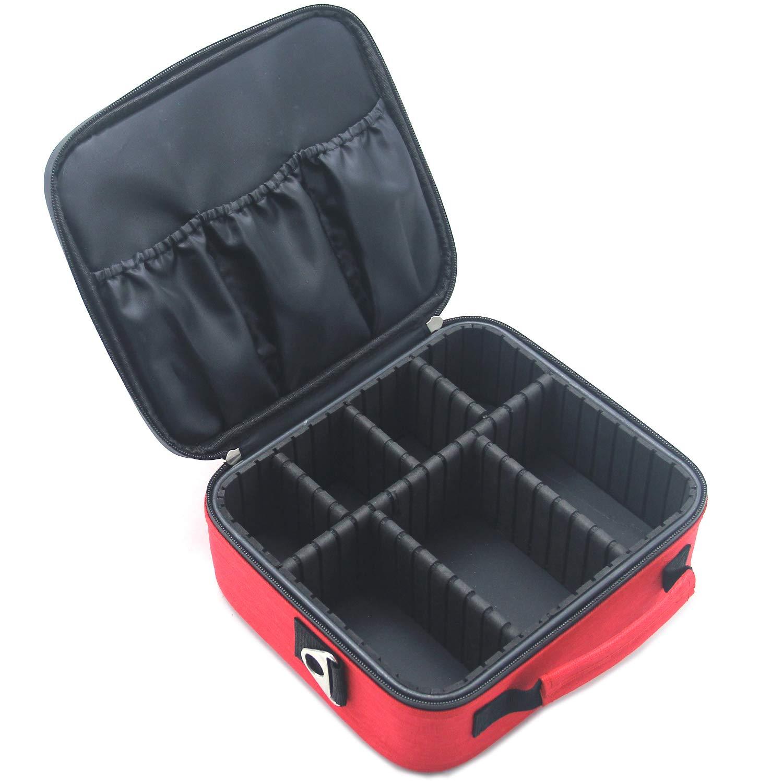 MONSTINA First Aid Kit,Professional Waterproof Premium Nylon First Aid Bag With EVA Separator