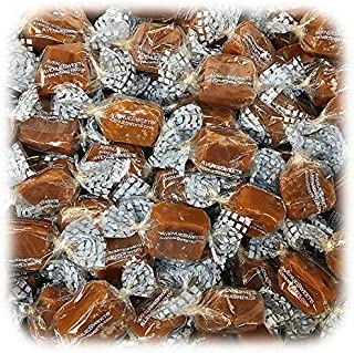 product image for AvenueSweets - Handcrafted Individually Wrapped Soft Caramels - 5 lb Box - Sea Salt