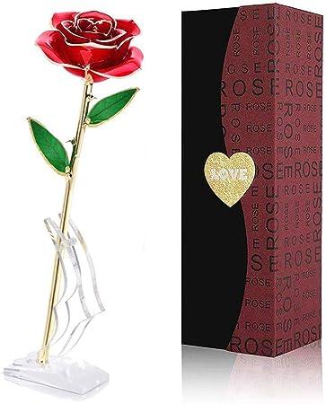🌹[Para siempre Blooming Rose]🌹– Las rosas rojas son el menor figura del idoloatría ficticio y la c