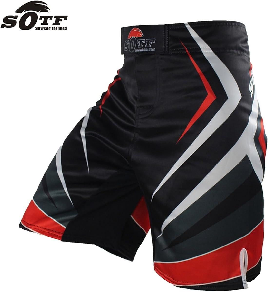 SOTF mma shorts boxing shorts boxing trunks mma pants brock lesnar short mma
