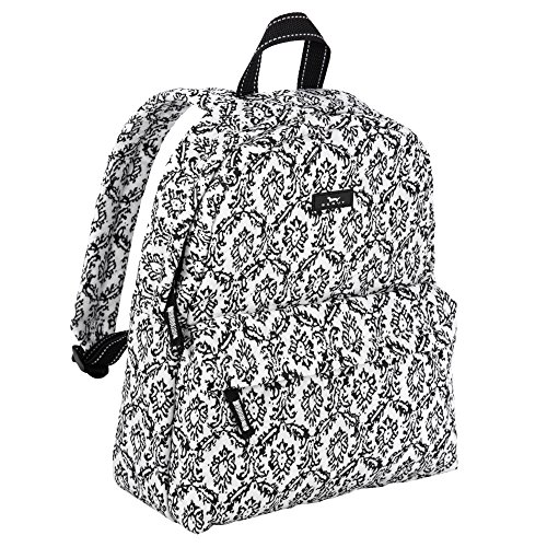 (SCOUT Backstory Mini Backpack, Quilted, iPad/Tablet Sleeve, Adjustable Straps, Water Resistant, Zips Closed, Midnight in Paris)