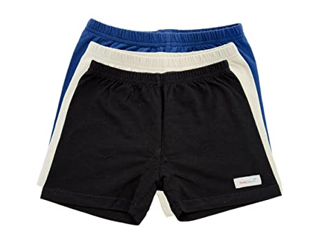 Amazon.com: Girls Under Shorts - Navy Blue, Khaki, Black 3 Pack ...