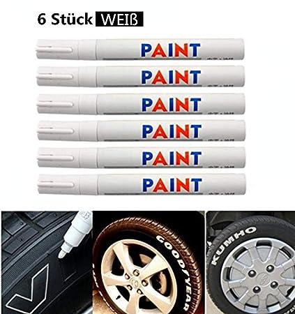 Paint Rubber Metall Reifen Für Auto Permanent Marker Tread Reifen-Werkzeug