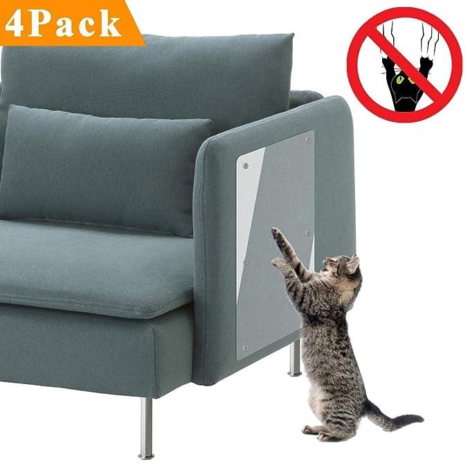 Rhww Protectores De Muebles Para Gatos, 4Pack Claro Mascota ...