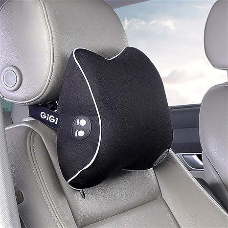 Asiento de coche Cuello eléctrico Masaje Almohada ...