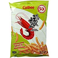 Calbee Prawn Crackers Spicy, 70 g, Pack of 1 CLB6001169