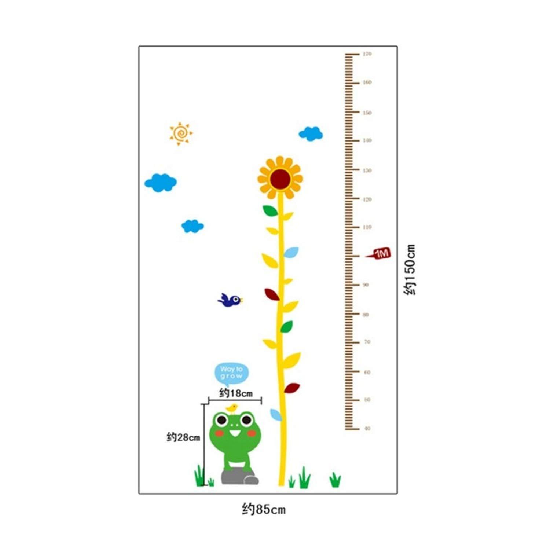 Amazon.com: Jewh Sticker Rangefinder Growth Chart Stickers - Meter Ruler Decor Kids Room Wall Stickers - Children Wall Decals Height Gauge Vinyl (ay7149): ...
