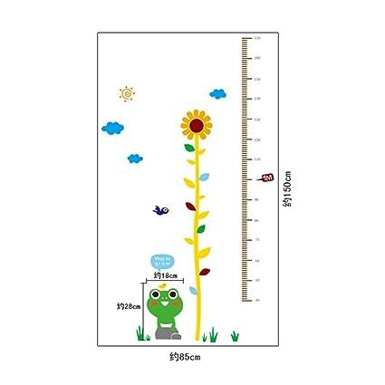 Jewh Sticker Rangefinder Growth Chart Stickers - Meter Ruler Decor Kids Room Wall Stickers - Children