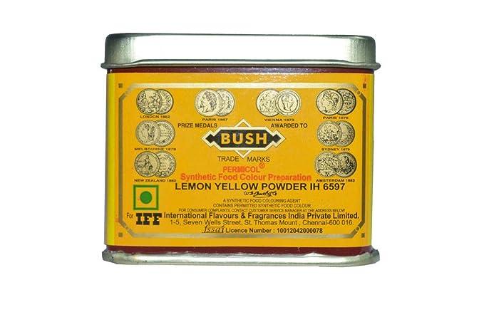 Sandi Foods - IFF, Lemon Yellow Powder IH 6597, Food Colour