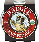 Badger Man Care Hair Pomade, 2 oz tin Review and Comparison