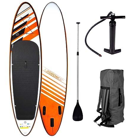 SUP tarjeta Stand Up paddling Tabla de Surf Shark 320 x 76 x 15 cm ...