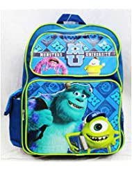 Monster University Backpack Large 16 Scare School Disney