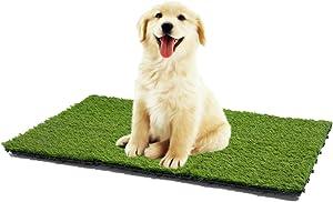 PANDAHOME 12 PCS Artificial Grass Tile Interlocking Floor Tiles, 12
