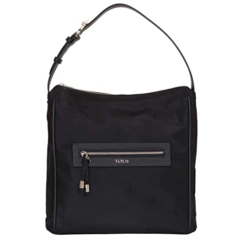 Shopping Lindsay, Womens Shoulder Bag, Negro (Black/Black), 8x34x34 cm (W x H L) Tous