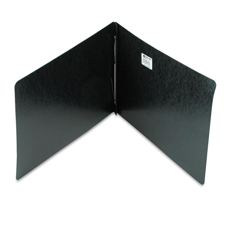 Acco Genuine Pressboard Report Cover - Ledger - 11quot; Width x 17quot; Length Sheet Size - 3quot; Folder Fastener Capacity - 20 pt. - Pressboard - Black - 1 Each