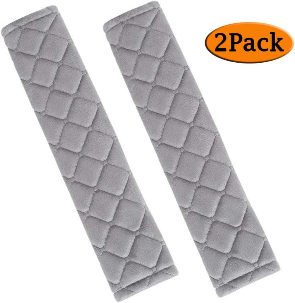 Soft ANDALUS Seat Belt Covers for Adults Universal Beige Comfortable Car Seatbelt Cover 2 Pack